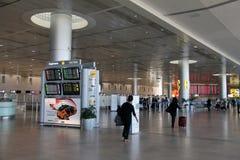 Aéroport de Ben Gurion à Tel Aviv Image libre de droits