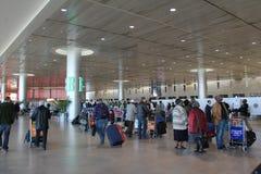 Aéroport de Ben Gurion. Tel Aviv Images stock