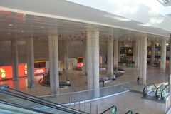 Aéroport de Ben Gurion. Tel Aviv Photographie stock libre de droits