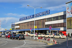 Aéroport de Berlin Schönefeld Photos stock