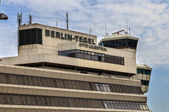 Aéroport de Berlin-Tegel Images libres de droits