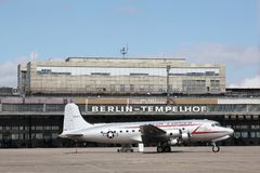 Aéroport de Berlin Tempelhof Photo stock