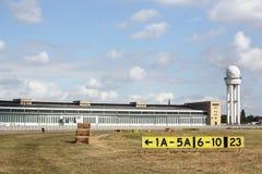 Aéroport de Berlin Tempelhof en Allemagne Photographie stock libre de droits