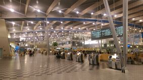 Aéroport de Billund Image libre de droits