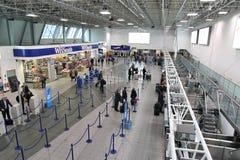 Aéroport de Birmingham, R-U Photo libre de droits