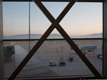 Aéroport de Bodrum Photographie stock libre de droits