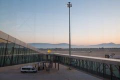 Aéroport de Bodrum Photos libres de droits