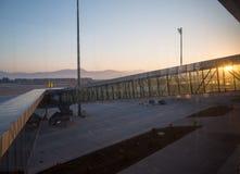 Aéroport de Bodrum Image stock