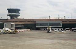 Aéroport de Bologna Photos libres de droits
