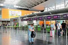 Aéroport de Boryspil, Ukraine Photos libres de droits