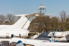 Aéroport de Bourgas de Bulgare, ressort Photo libre de droits