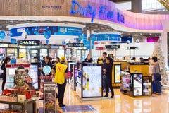 Aéroport de boutique hors taxe thailand Image libre de droits