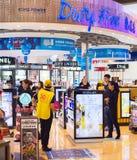 Aéroport de boutique hors taxe thailand Images libres de droits