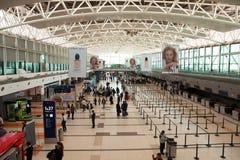 Aéroport de Buenos Aires, départs Photographie stock libre de droits