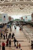 Aéroport de Buenos Aires, départs Image stock