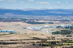 Aéroport de Canberra Photo stock