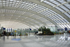 Aéroport de capital de la Chine Pékin Images libres de droits