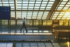 Aéroport de capital de Pékin Photos libres de droits
