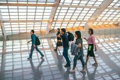 Aéroport de capital de Pékin Photographie stock