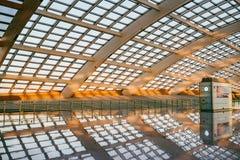 Aéroport de capital de Pékin Photo stock
