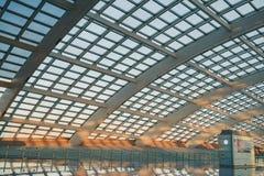 Aéroport de capital de Pékin Images libres de droits