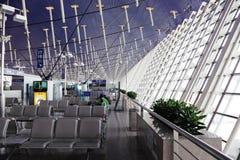Aéroport de Changhaï, Chine Image libre de droits
