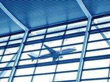 Aéroport de Changhaï Pudong Images libres de droits