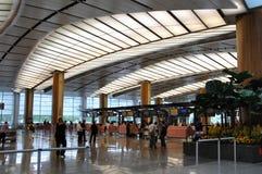Aéroport de Changi Photo libre de droits
