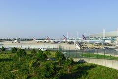Aéroport de Charles de Gaulle Image stock