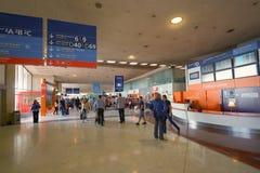 Aéroport de Charles de Gaulle Image libre de droits