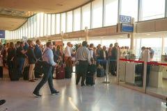 Aéroport de Charles de Gaulle Photos libres de droits