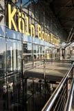Aéroport de Cologne Bonn Photo libre de droits
