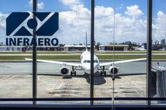 Aéroport de Congonhas Photographie stock libre de droits