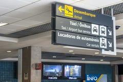 Aéroport de Congonhas Photos libres de droits