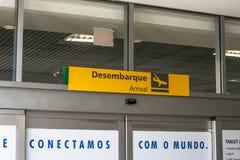 Aéroport de Congonhas Photo libre de droits