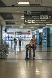 Aéroport de Congonhas Images libres de droits