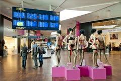 Aéroport de Copenhague Photographie stock libre de droits