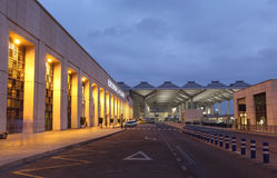 Aéroport de Costa del Sol à Malaga, Espagne Image libre de droits