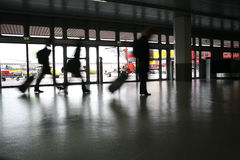 Aéroport de course Photographie stock libre de droits