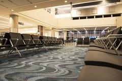 Aéroport de désert Image stock