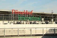 Aéroport de Düsseldorf Images libres de droits