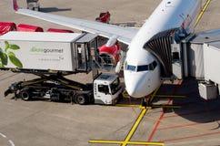 Aéroport de Düsseldorf Images stock