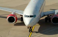 Aéroport de Düsseldorf - carlingue de Berlin d'air Image stock