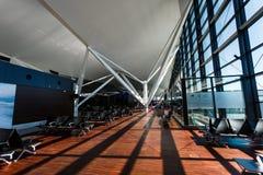 Aéroport de Danzig d'intérieur Images stock