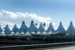 Aéroport de Denver Photographie stock libre de droits