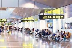 Aéroport de Doha au Qatar Photo libre de droits
