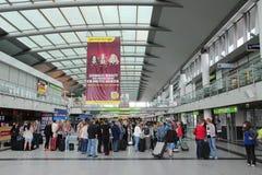 Aéroport de Dortmund Photographie stock libre de droits