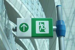 Aéroport de Dubaï Photos stock