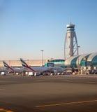 Aéroport de Dubaï Images libres de droits