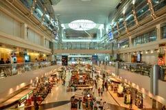 Aéroport de Dubai International, Dubaï, Emirats Arabes Unis Photographie stock libre de droits